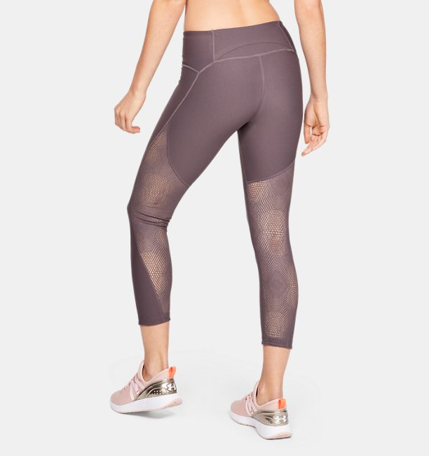 Womens UA Vanish Crop Ascend Mesh