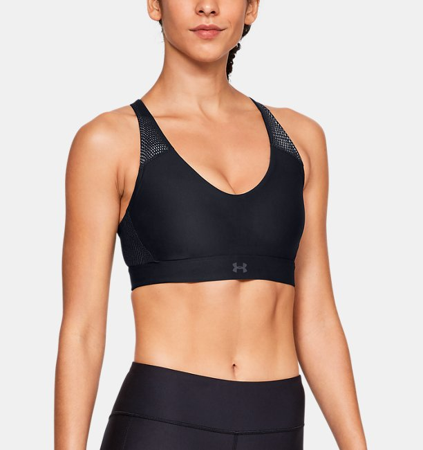 Womens UA Vanish Mid Mesh Sports Bra
