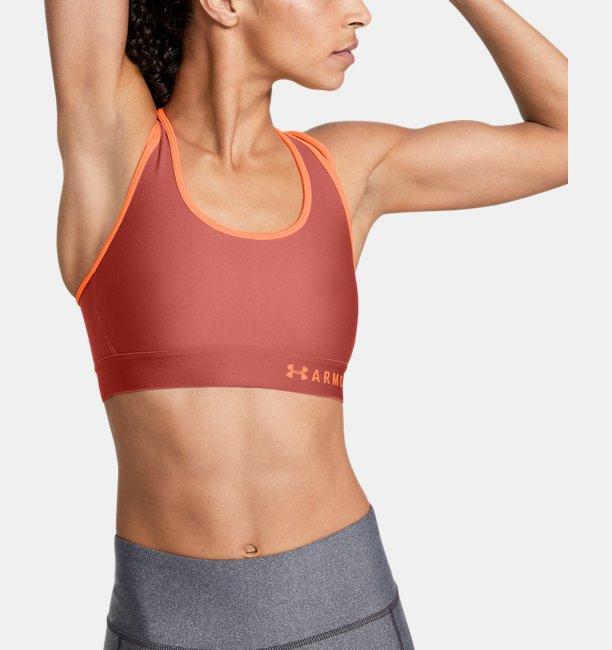 여성 Armour® 미드 크로스백 스트래피 스포츠 브라