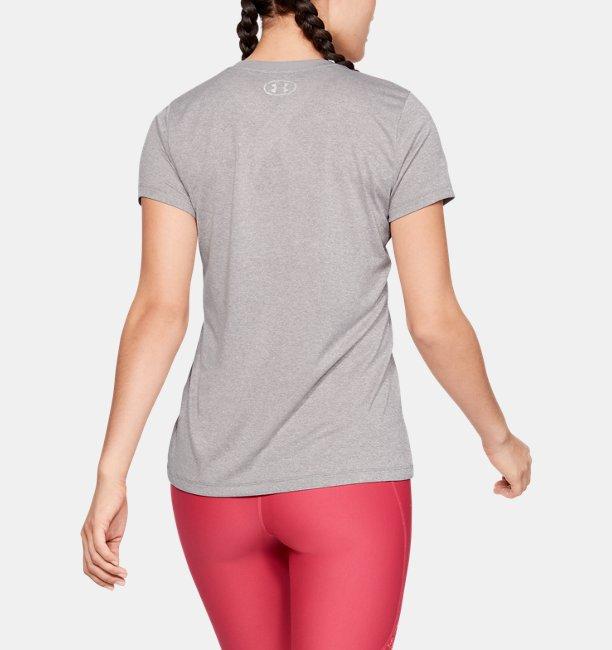 Womens UA Tech™ Short Sleeve V-Neck Graphic