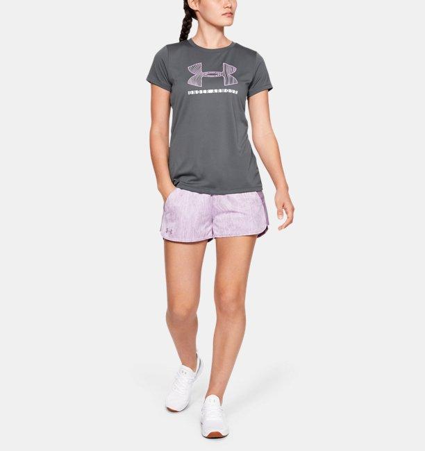 UAショートスリーブ クルー グラフィック(トレーニング/Tシャツ/WOMEN)