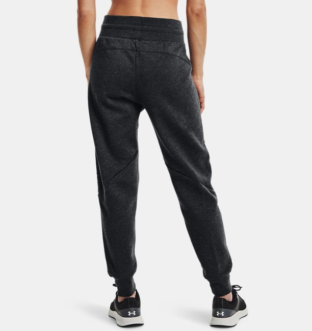 Womens UA Taped Fleece Pants