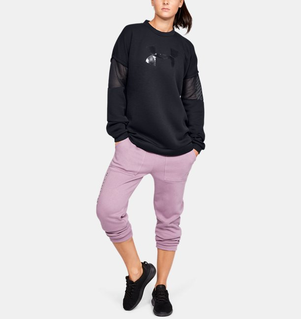 Womens UA Move Light Tunic Crew
