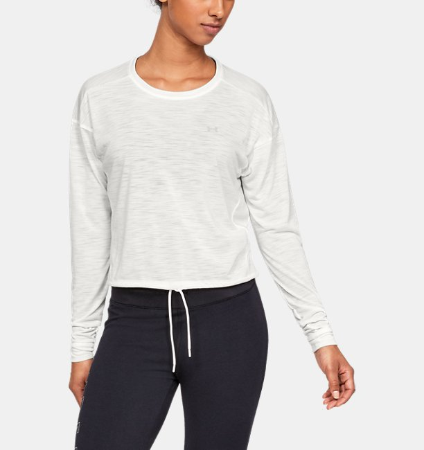 Womens UA Whisperlight Crop Cover Up