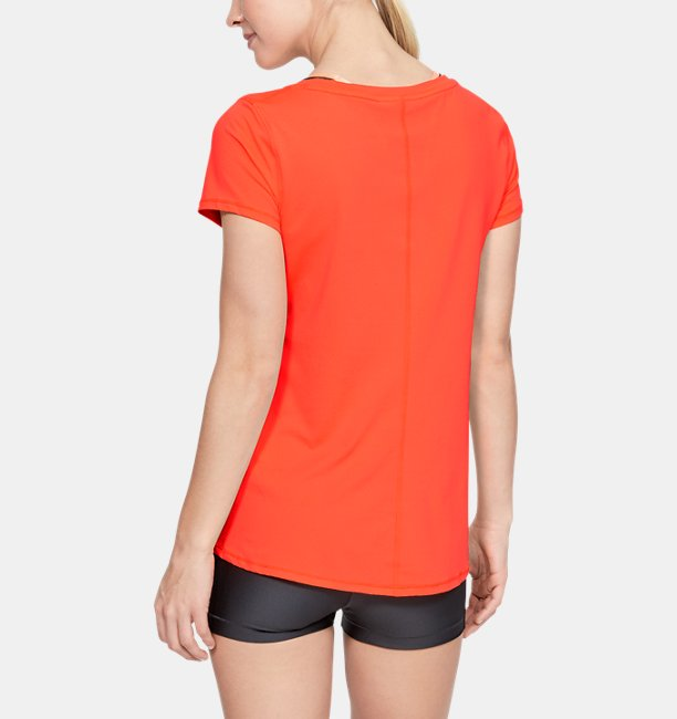Camiseta HeatGear® Armour Feminina