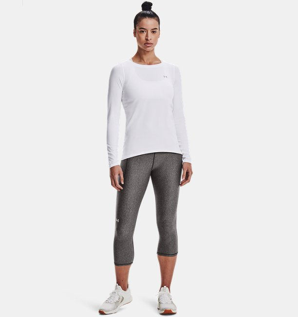 Womens HeatGear® Armour Long Sleeve