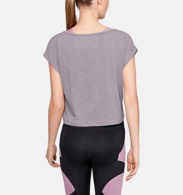Womens UA Perpetual Short Sleeve Jacquard