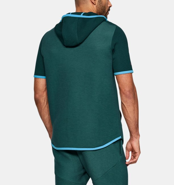 Mens UA Move Light ½ Zip Short Sleeve Hoodie