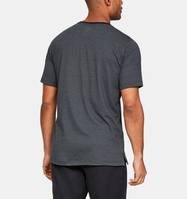 Mens UA Sportstyle Cotton Mesh T-Shirt