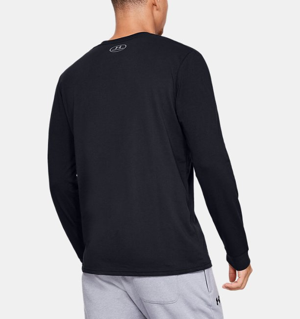 Mens UA Sportstyle Logo Long Sleeve
