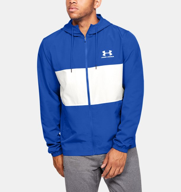 UAスポーツスタイル ウィンドジャケット(トレーニング/MEN)