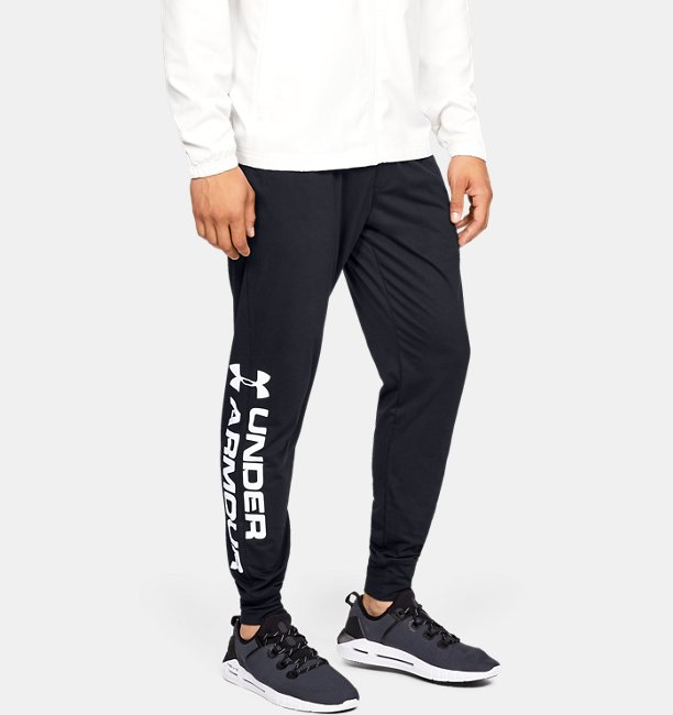 Herenjoggingbroek UA Sportstyle Cotton Graphic