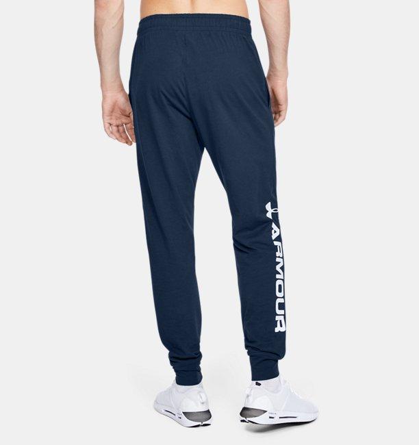 Pantalones de Entrenamiento UA Sportstyle Cotton Graphic para Hombre