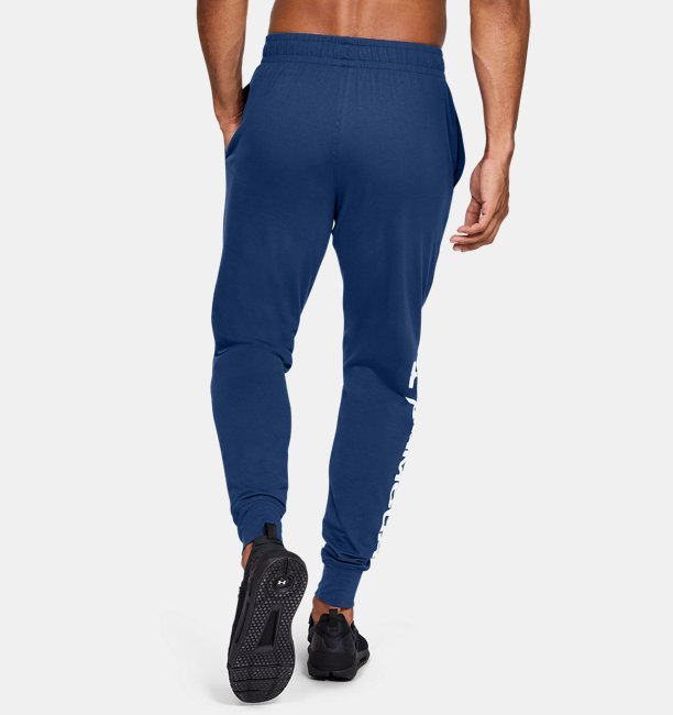 Mens UA Sportstyle Cotton Graphic Joggers