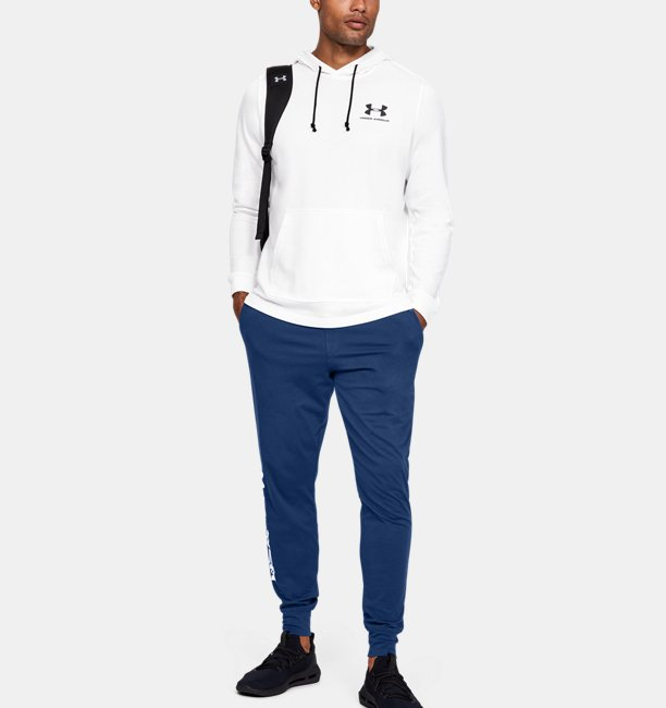 Mens UA Sportstyle Cotton Graphic Joggers