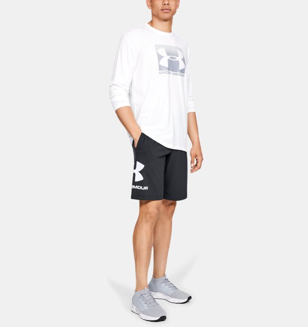 Mens UA Sportstyle Cotton Graphic Shorts