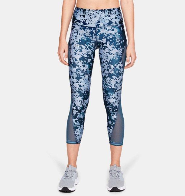 Womens HeatGear® Armour Print Ankle Crop