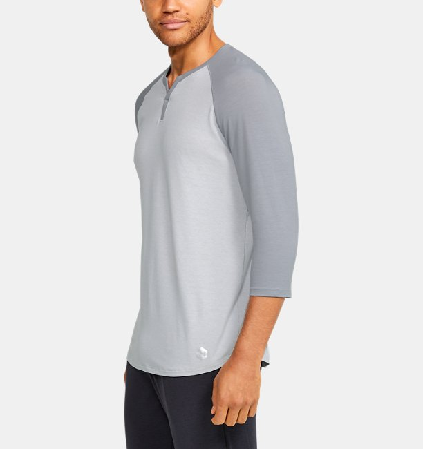 Herren Athlete Recovery Sleepwear™ Henley-Shirt