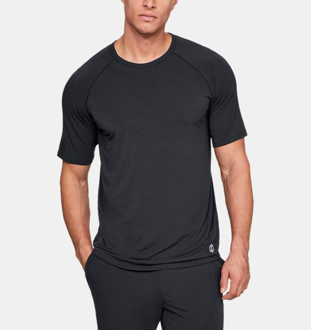 Mens UA RECOVER™ Sleepwear Short Sleeve Shirt
