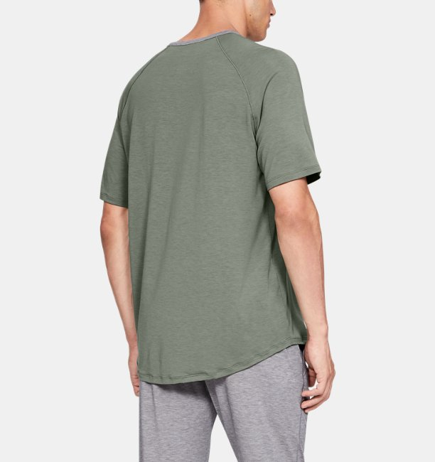 Mens Athlete Recovery Sleepwear Short Sleeve Crew
