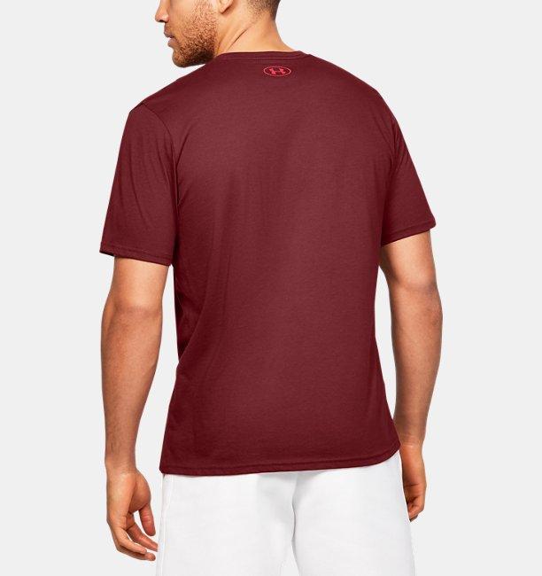 Mens UA Boxed Sportstyle Short Sleeve T-Shirt
