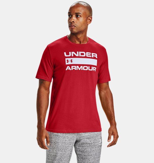Mens UA Team Issue Wordmark Short Sleeve