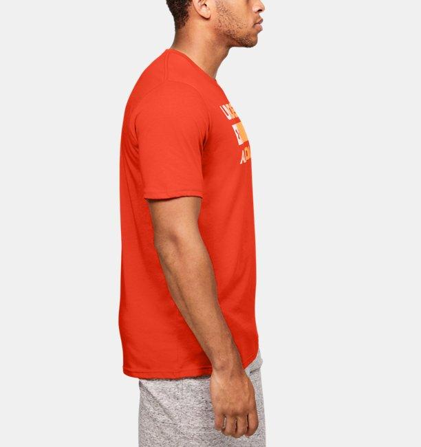 Camiseta de manga corta UA Team Issue Wordmark para hombre