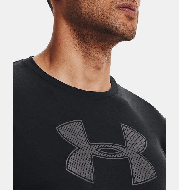 남성 UA 빅 로고 반팔 티셔츠