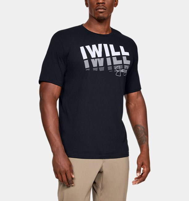 Mens UA I WILL 2.0 Short Sleeve
