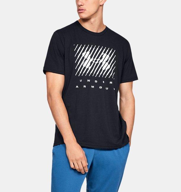 Mens UA Branded Big Logo Short Sleeve