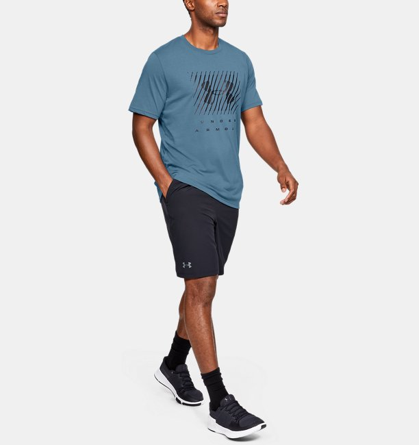 Mens UA Branded Big Logo Short Sleeve