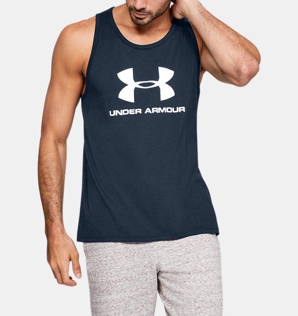 Mens UA Sportstyle Logo Tank