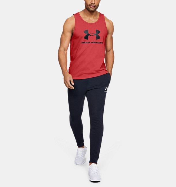 UAスポーツスタイル ロゴ タンク(トレーニング/タンクトップ/MEN)