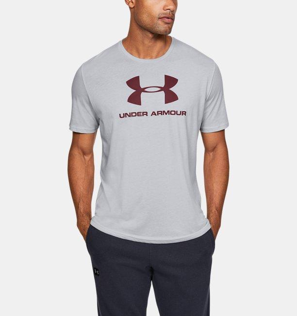 Haut à manches courtes UA Sportstyle Logo pour homme