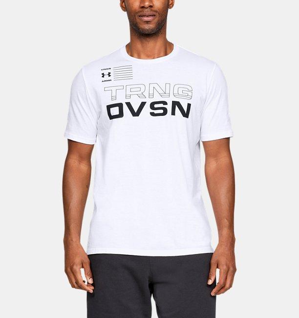 Mens UA TRNG DVSN Short Sleeve