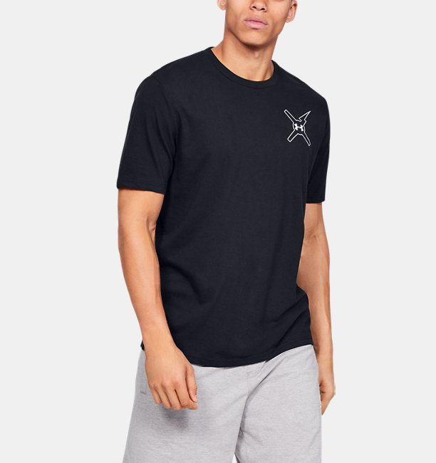 Mens UA Wait For Nobody Short Sleeve