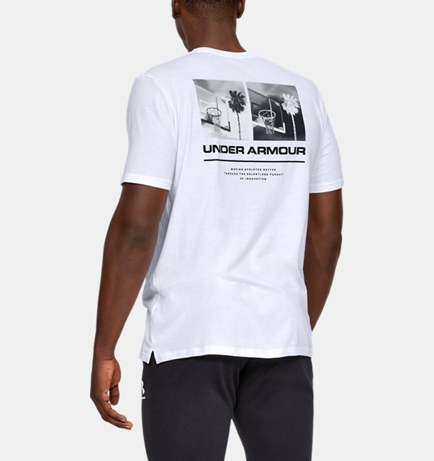 Mens UA Originators Photoreal Split Hem Short Sleeve