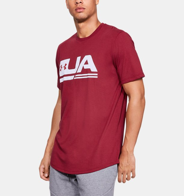 Men's UA Sportstyle Drop Hem Short Sleeve