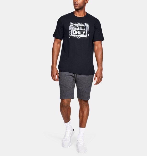 Mens UA Train Daily Short Sleeve T-Shirt