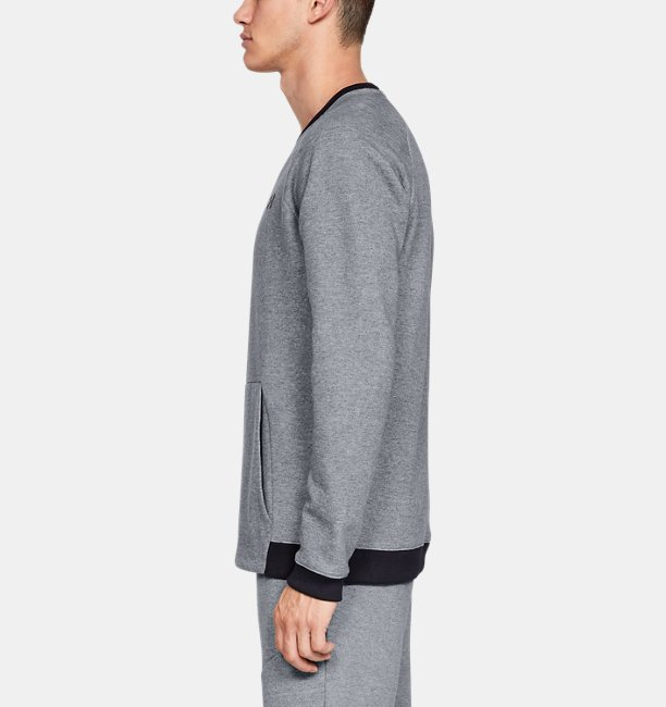 Mens UA Unstoppable Double Knit Crew