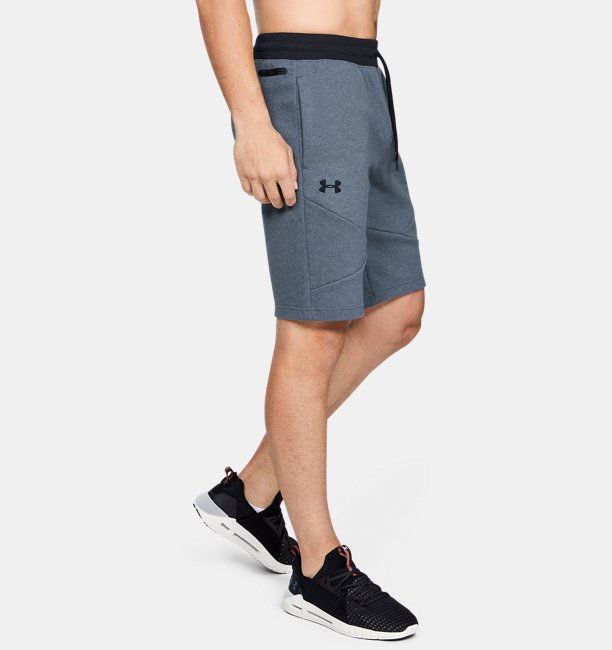 Mens UA Unstoppable 2X Knit Shorts
