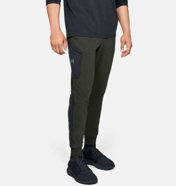 Mens UA Microthread Terry Joggers