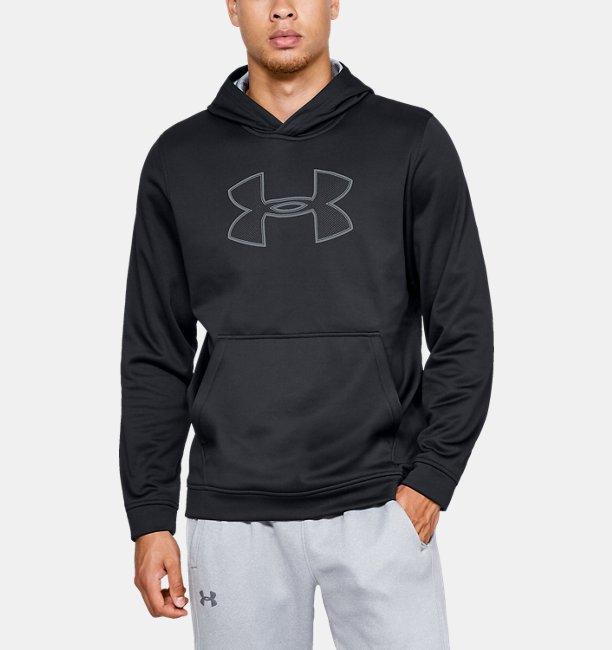 0fcb7fe818b Sweat à capuche UA Big Logo pour homme