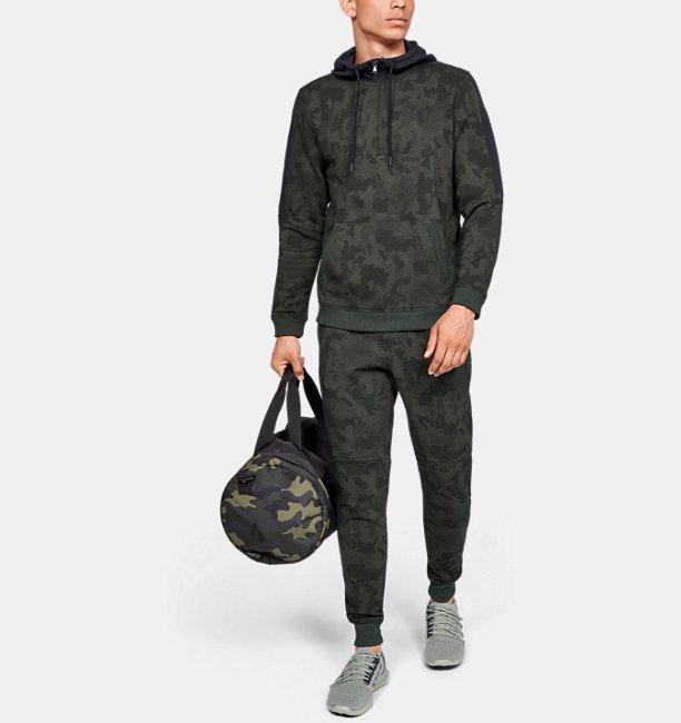 Mens UA Microthread Fleece Camo ½ Zip