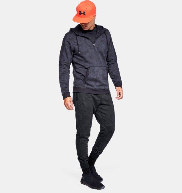 Mens UA Microthread Fleece Camo Joggers