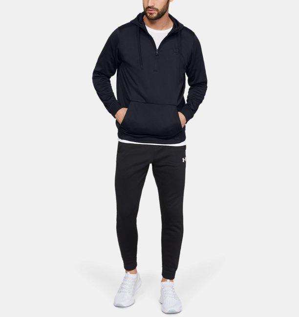 Felpa con cappuccio Armour Fleece® ½ Zip da uomo