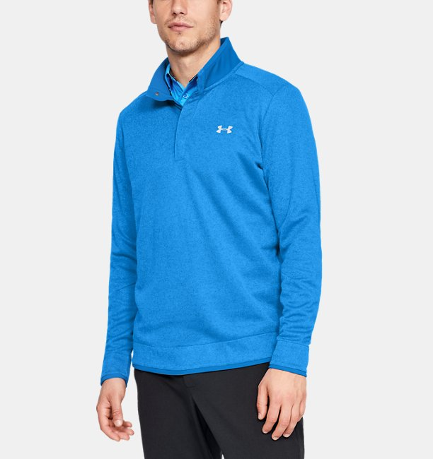 Herenmock UA Storm SweaterFleece Heather Snap