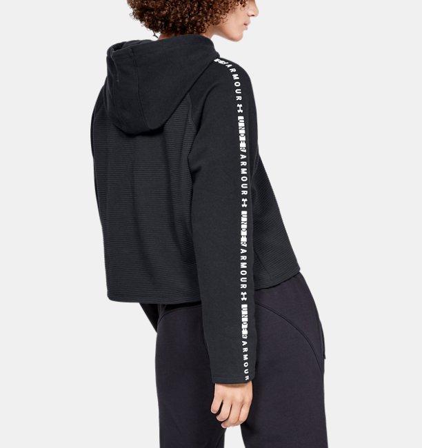 Womens UA Microthread Fleece Hoodie