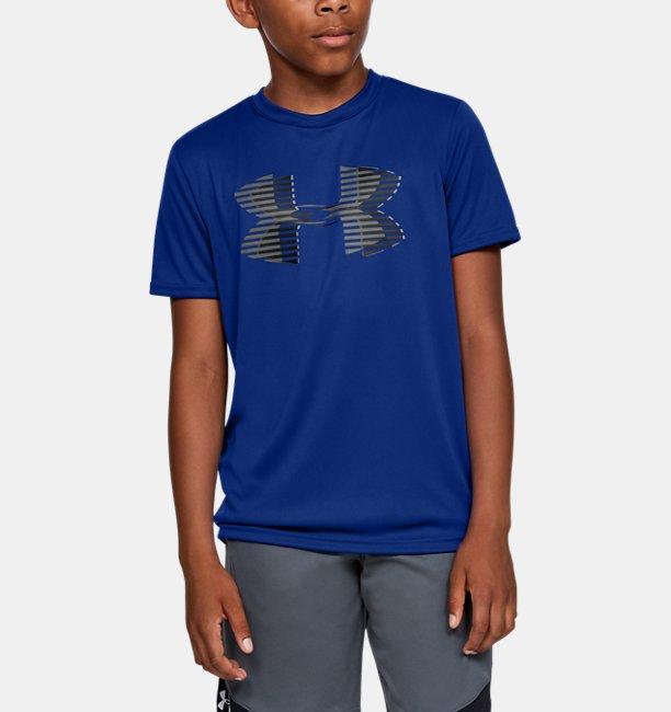 Camiseta UA Tech™ Big Logo Solid Infantil Masculino