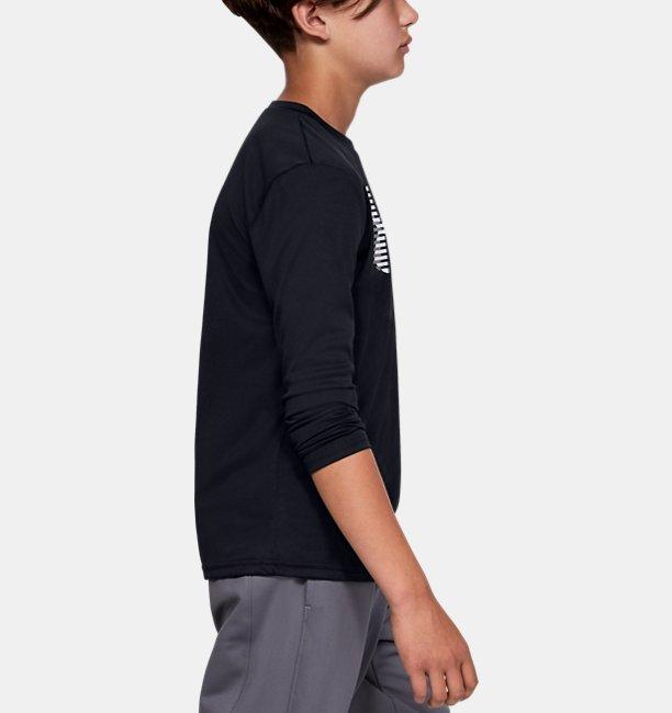 UAテック ビッグロゴ ロングスリーブ(トレーニング/Tシャツ/BOYS)